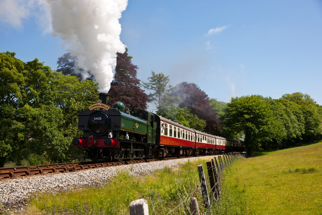 The Cornish Belle at the Bodmin & Wenford Railway