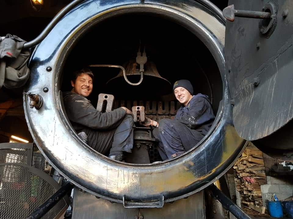 Volunteering - behind the scenes at the Bodmin & Wenford Railway