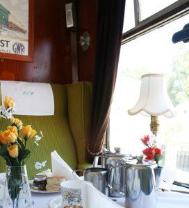 Cream Tea on the Bodmin & Wenford Railway