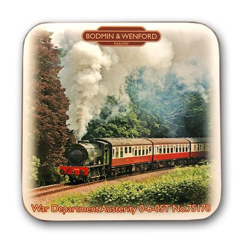 Bodmin & Wenford Railway Austerity 2766 Coaster