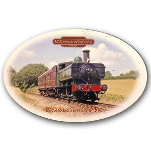 Bodmin & Wenford Railway Fridge Magnet