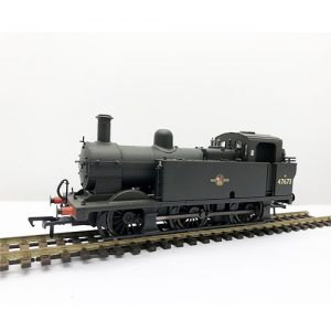 Bachmann 32-235 3F 'Jinty' BR Black L/C Weathered