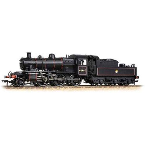 Bachmann 32-826A Ivatt Class 2MT BR Lined Black Early Emblem