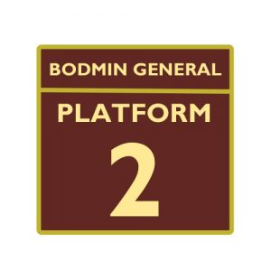 Bodmin and Wenford Railway Platform 2 Badge