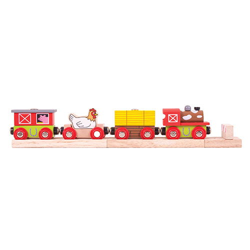 Bigjigs Farmyard Train