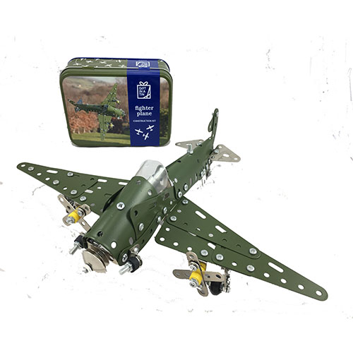 Fighter Plane - Gift in a Tin