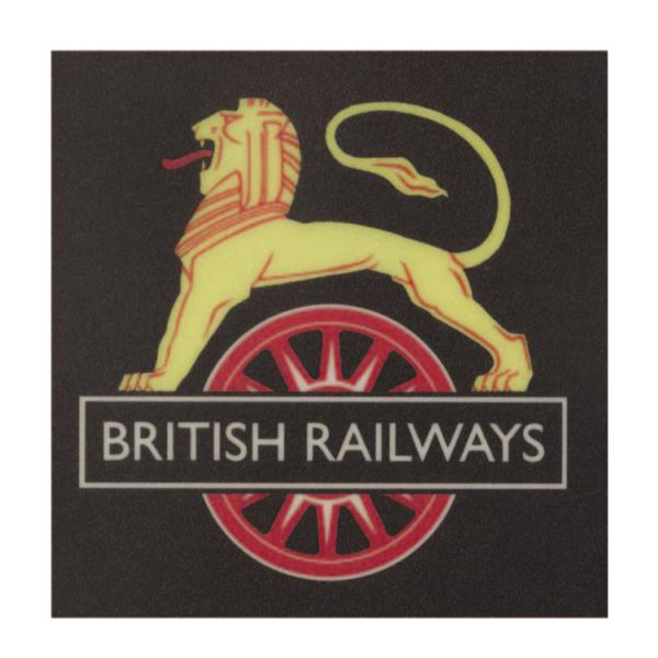 British Railways Small Metal Sign