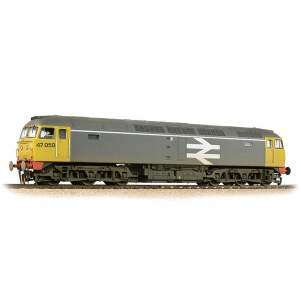 Bachmann-31-664 Class 47 BR Rainfreight Grey