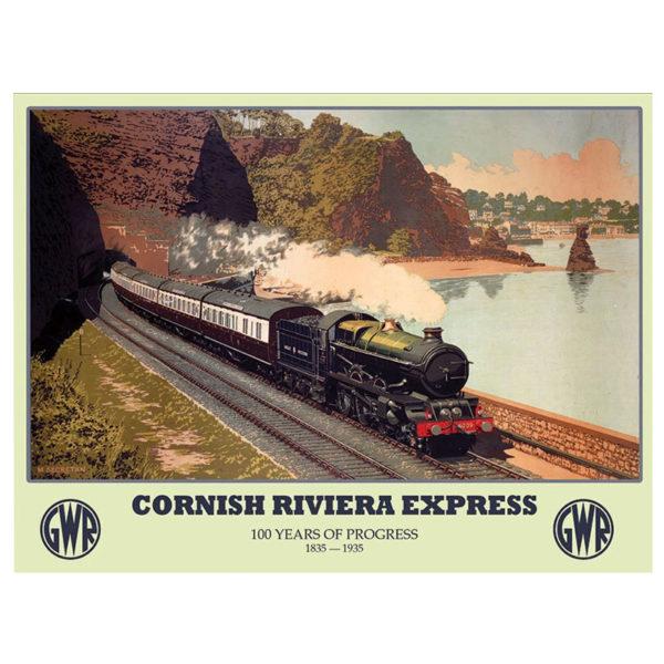 Cornish Riviera Express Wall Sign