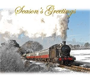 Bodmin Railway Christmas Cards