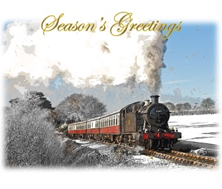 Bodmin Railway Christmas Cards
